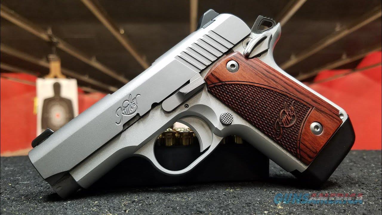 Kimber Micro 9 STS w/ 6 Round Mag  Guns > Pistols > Kimber of America Pistols > Micro 9