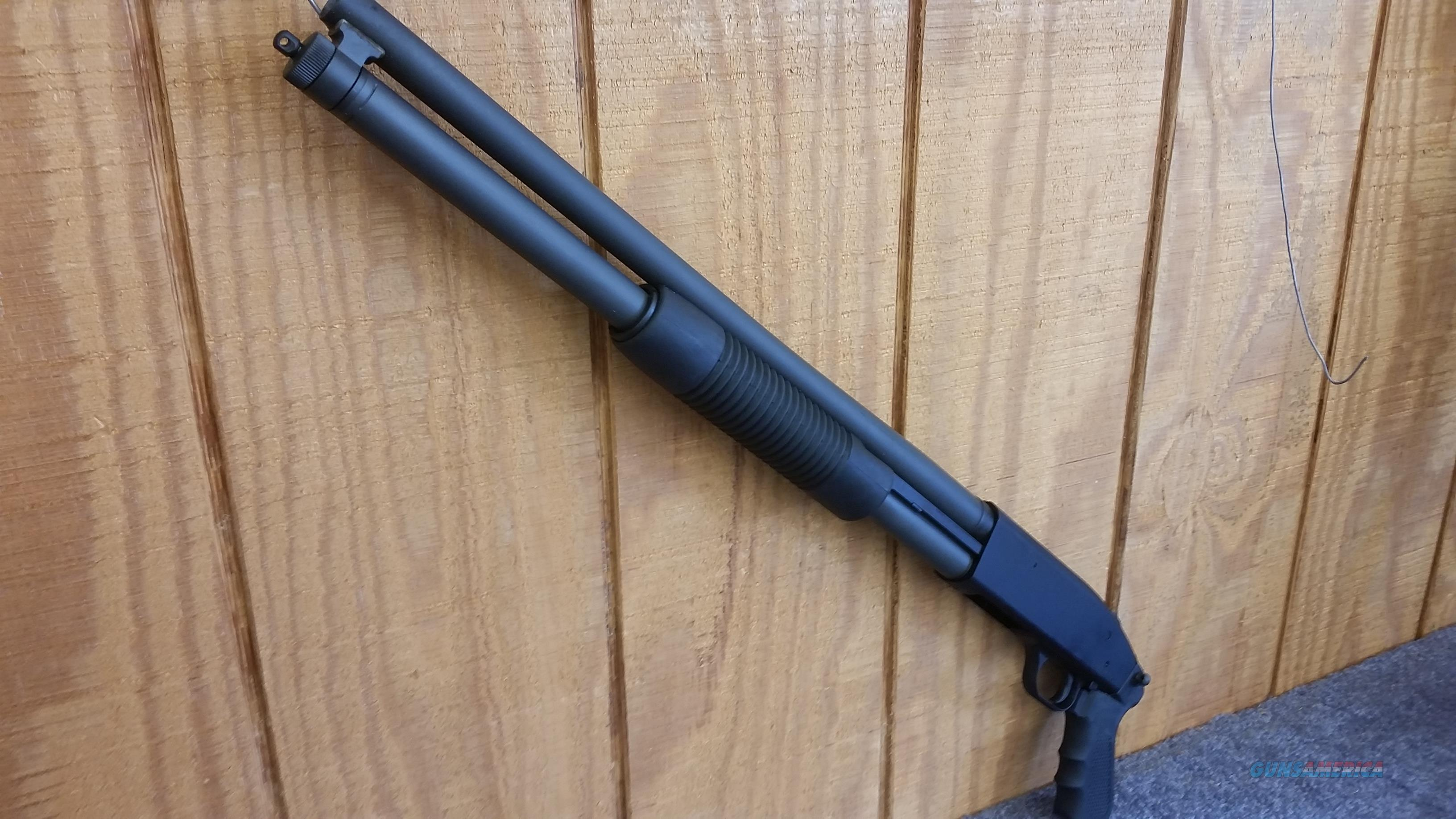 Mossberg 500 Persuader  8+1 Shot 12ga w/ both full and pistol grips  Guns > Shotguns > Mossberg Shotguns > Pump > Tactical