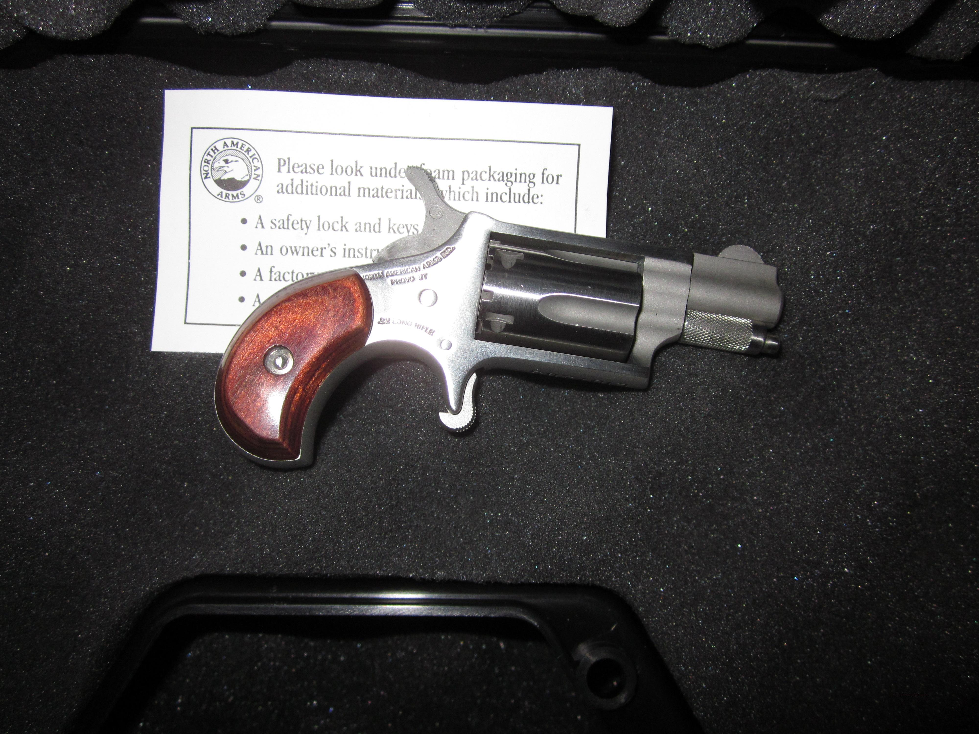 NAA Mini Revolver .22LR EXCELLENT CONDITION  Guns > Pistols > North American Arms Pistols