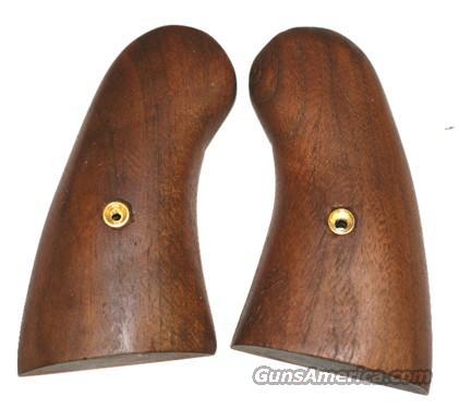 Colt DA Revolver Smooth Walnut Grips  Non-Guns > Gun Parts > Grips > Other