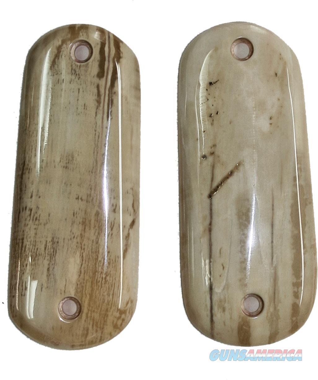 Colt 1902 Hammer Auto Fossilized Alaskan Walrus Ivory Grips  Non-Guns > Gun Parts > Grips > Other