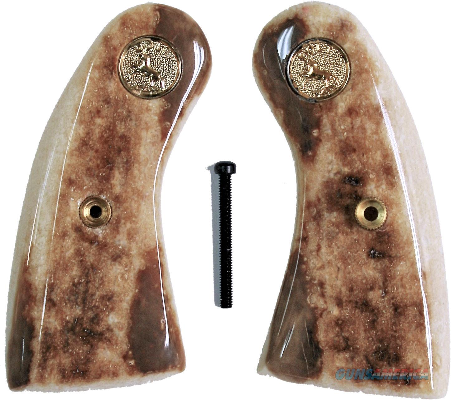 Colt Police Positive Fossilized Alaskan Walrus Ivory Grips  Non-Guns > Gun Parts > Grips > Other