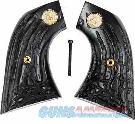 Colt SAA Imitation Jigged Buffalo Horn Grips  Non-Guns > Gun Parts > Grips > Cowboy