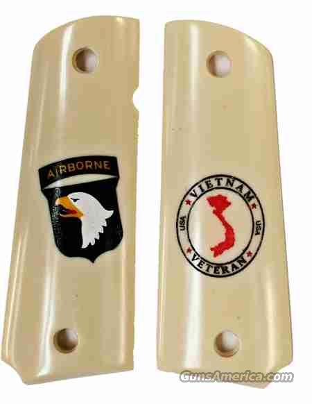 101st Airborne Vietnam Service Colt 1911  Non-Guns > Gun Parts > Grips > 1911