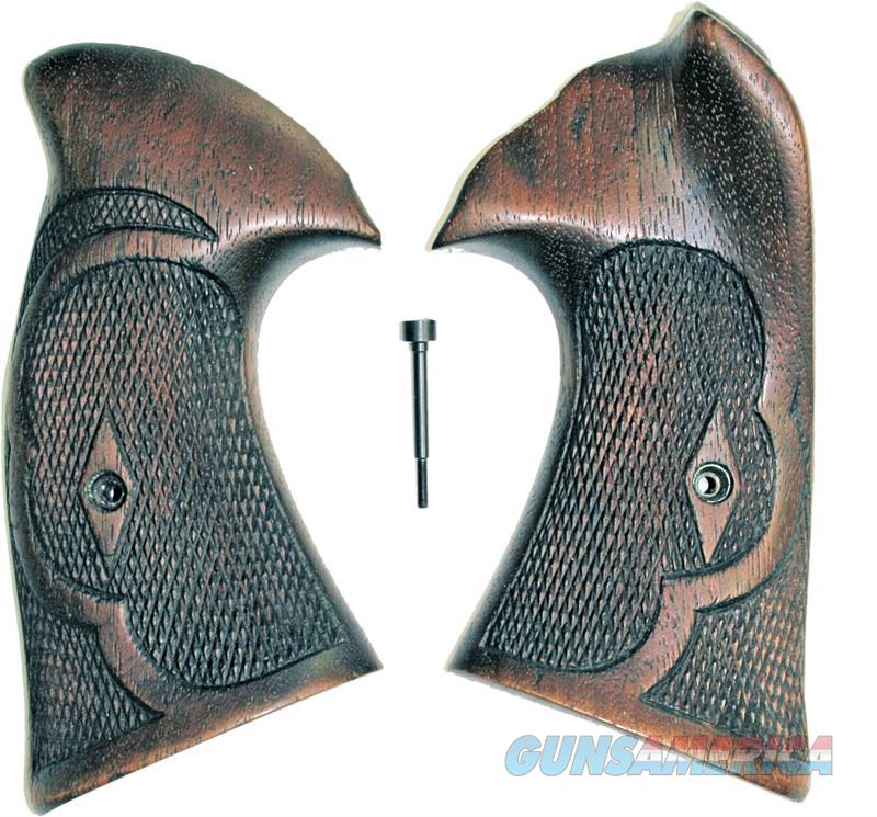 Original Vintage Smith & Wesson N Frame Walnut Roper Grips, Square Butt  Non-Guns > Gun Parts > Grips > Smith & Wesson