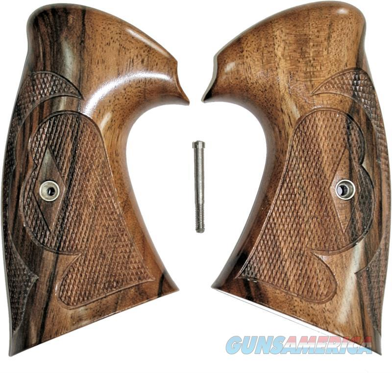 Colt Python I/E Frame Vintage Walnut Roper Grips By Keith Brown  Non-Guns > Gun Parts > Grips > Other