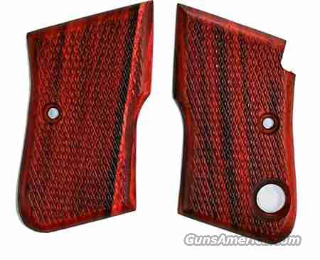 Beretta Model 950 B/S Rosewood Grips  Non-Guns > Gun Parts > Grips > Other