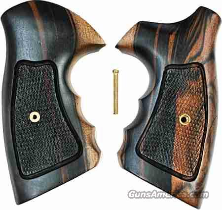 Smith & Wesson N Frame Combat Tigerwood Grips  Non-Guns > Gun Parts > Grips > Smith & Wesson