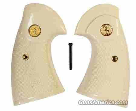 Colt Python Target Wrap Around Grips With Medallions  Non-Guns > Gun Parts > Grips > Other