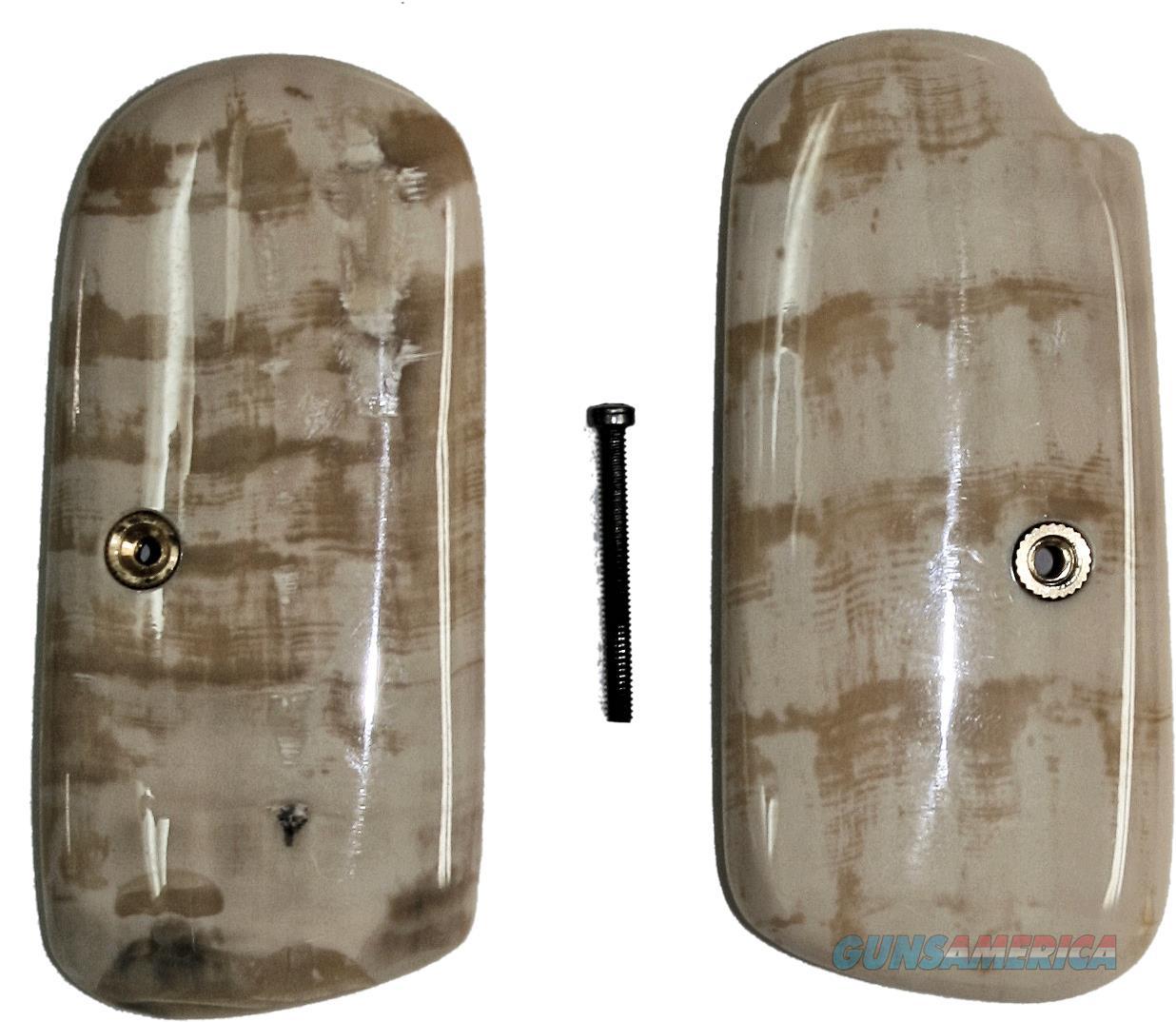 Colt 1903 & Colt 1908 Pocket Hammerless Fossilized Alaskan Walrus Ivory Grips  Non-Guns > Gun Parts > Grips > Other