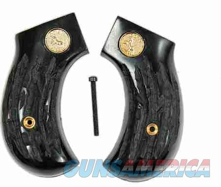 Colt 1877 Lightning Imitation Jigged Buffalo Horn Grips  Non-Guns > Gun Parts > Grips > Cowboy