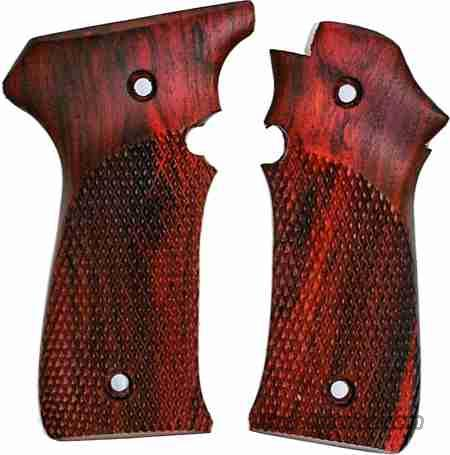 Llama III & IIIA .380 & 9mm Rosewood Grips  Non-Guns > Gun Parts > Grips > Other