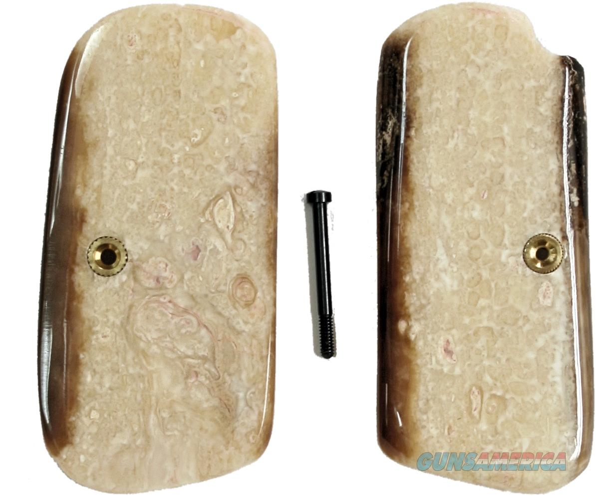 Colt 1903 & 1908 Fossilized Alaskan Walrus Ivory Grips   Non-Guns > Gun Parts > Grips > Other
