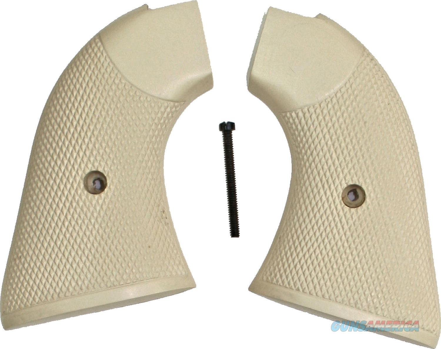 Colt Scout & Frontier Real Ivory Grips, Checkered  Non-Guns > Gun Parts > Grips > Cowboy