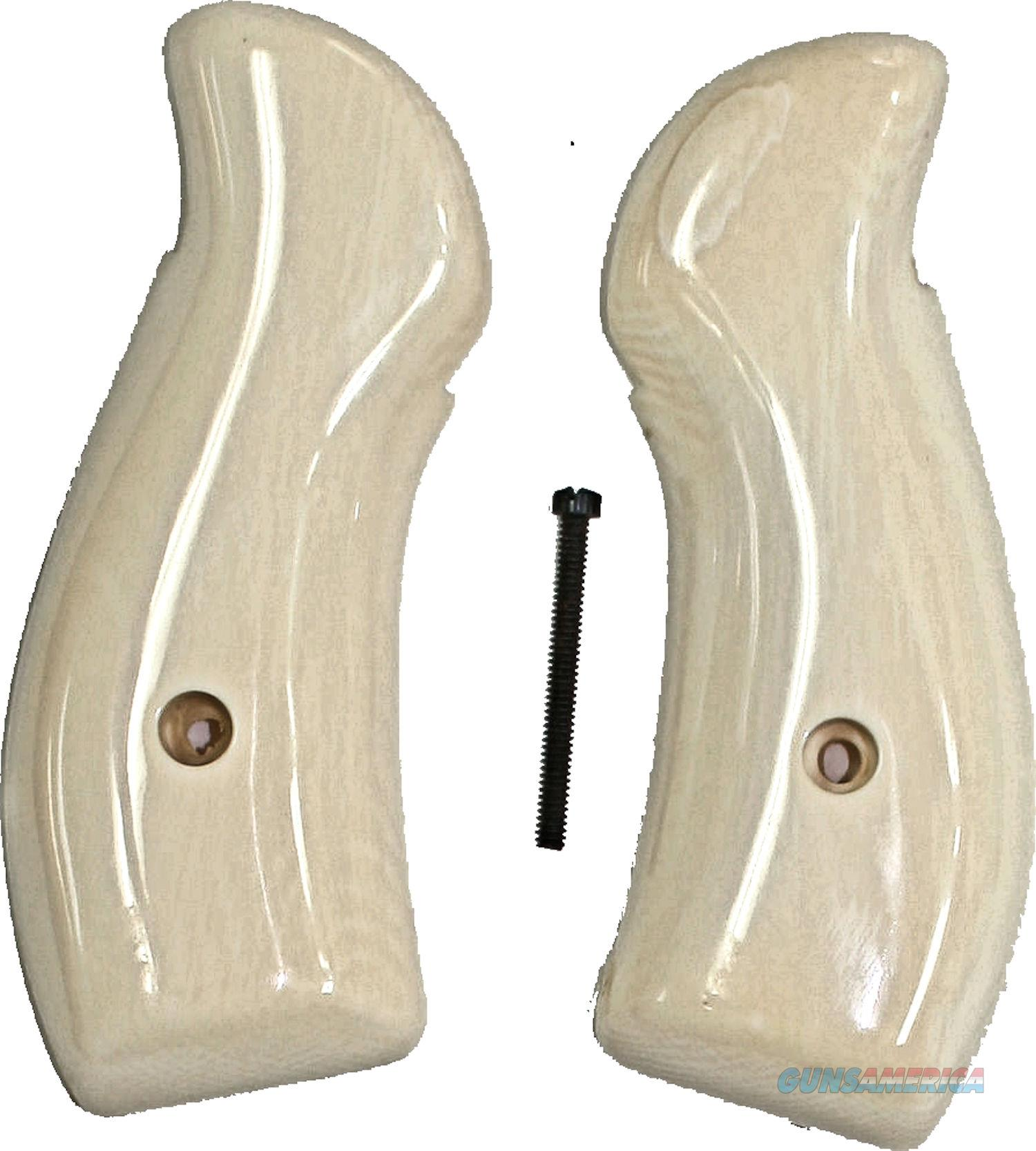Smith & Wesson N Frame Real Ivory Grips  Non-Guns > Gun Parts > Grips > Smith & Wesson