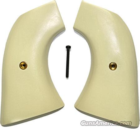 VA Dragoon Smooth Ivory-Like Grips  Non-Guns > Gun Parts > Grips > Cowboy