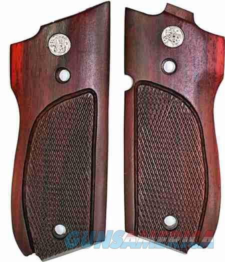 Smith & Wesson Model 39/52 Auto Rosewood Grips  Non-Guns > Gun Parts > Grips > Smith & Wesson