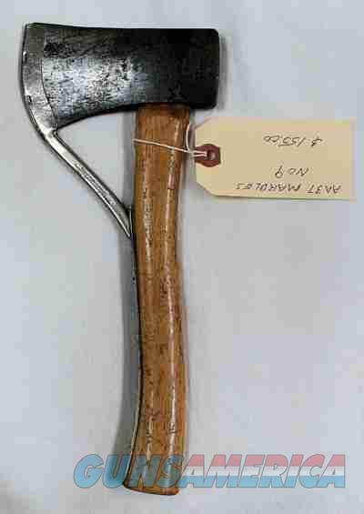 Marbles Axe, MSA No. 9 Wood Handle Axe  Non-Guns > Knives/Swords > Other Bladed Weapons > Tomahawks/Axes