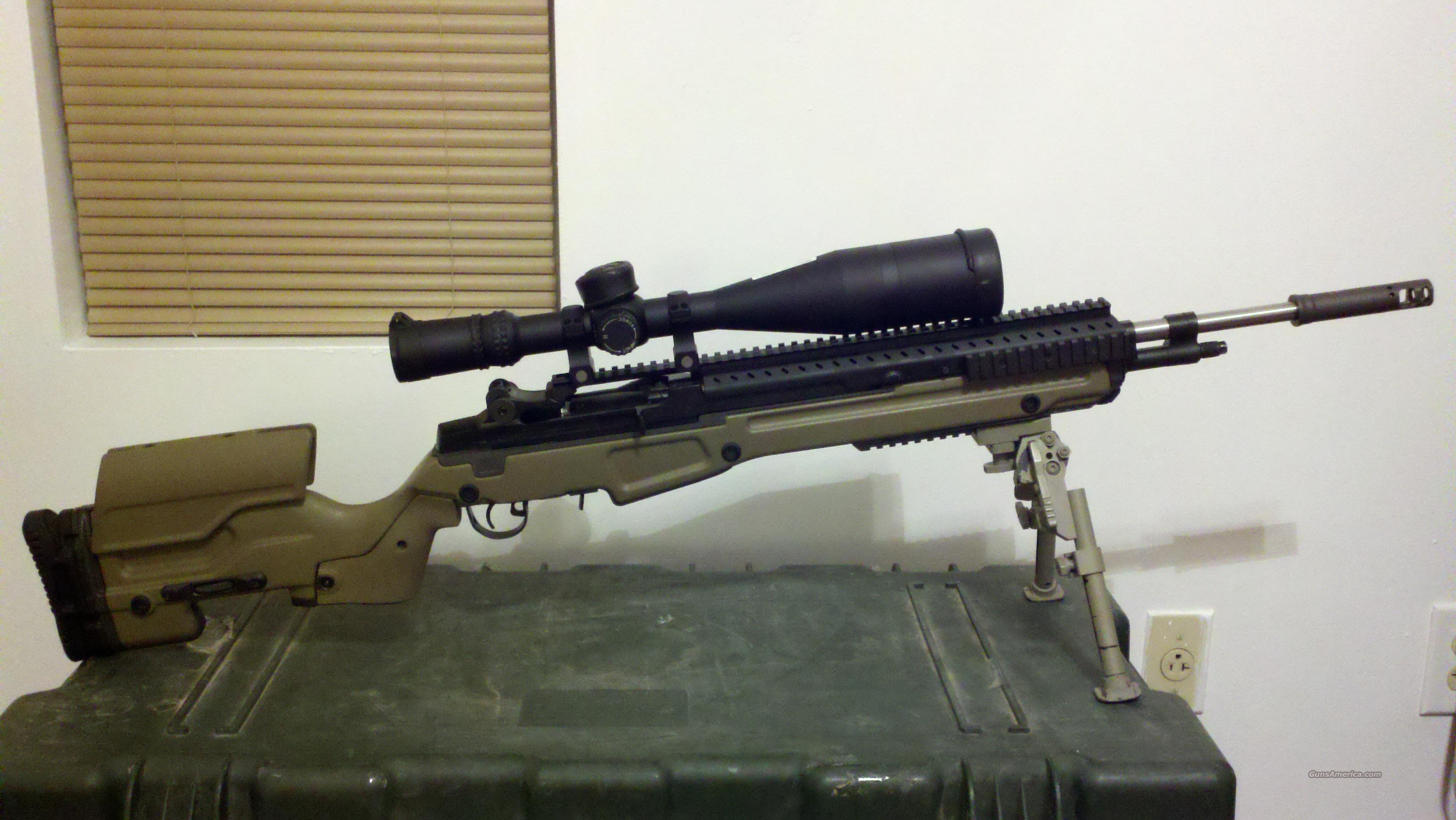 Custom Springfield M14/M1A (will part out). for sale M14 Tactical Sniper Rifle