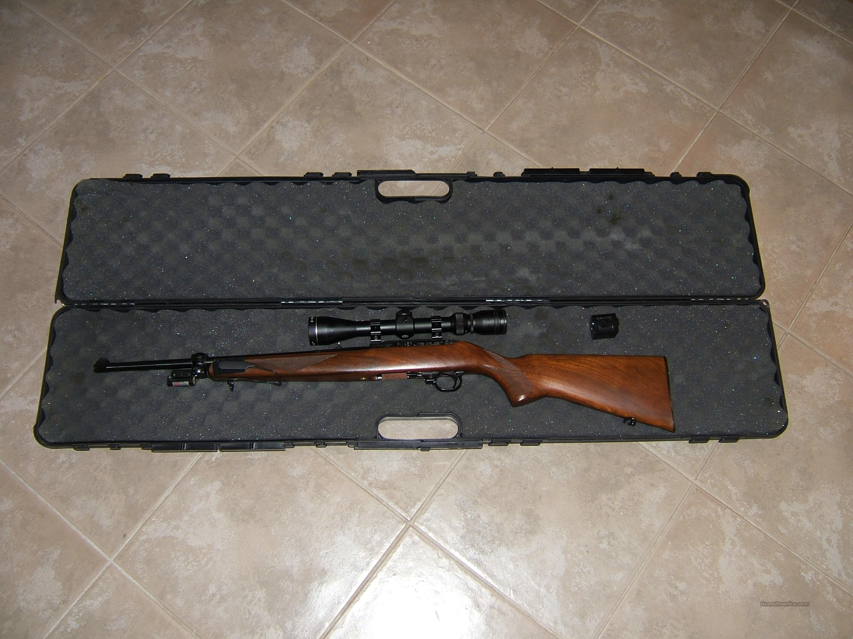 RUGER 10/22 SPORTER CARBINE WITH 2 SIGHTS  Guns > Rifles > Ruger Rifles > 10-22