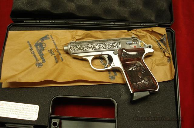 Walther PPK/S RKE Engraved Stainless 1 of 400 new  Guns > Pistols > Walther Pistols > Post WWII > PPK Series