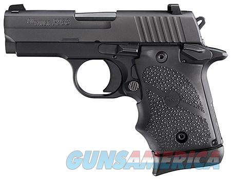 Sig Sauer P938 9MM Nitron w/Black Hogue Rubber Grip  Guns > Pistols > Sig - Sauer/Sigarms Pistols > Other