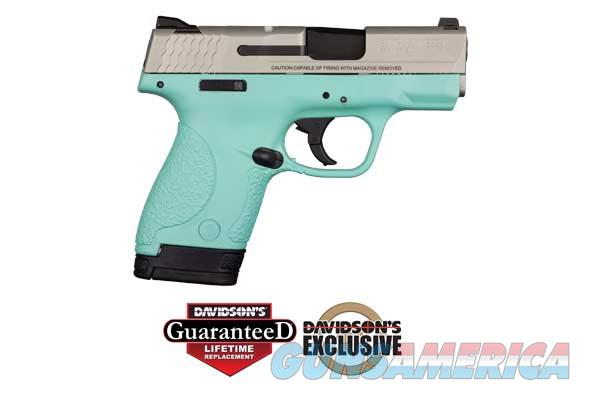 S&W M&P Shield 9MM Pistol - in Blue  Guns > Pistols > Smith & Wesson Pistols - Autos > Polymer Frame