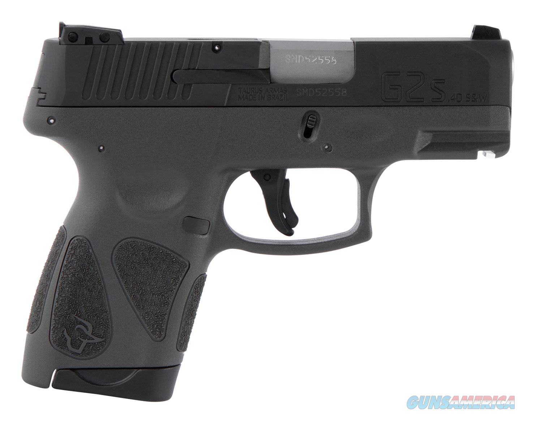 Taurus G2S 40S&W Pistol - Gray Frame  Guns > Pistols > Taurus Pistols > Semi Auto Pistols > Polymer Frame