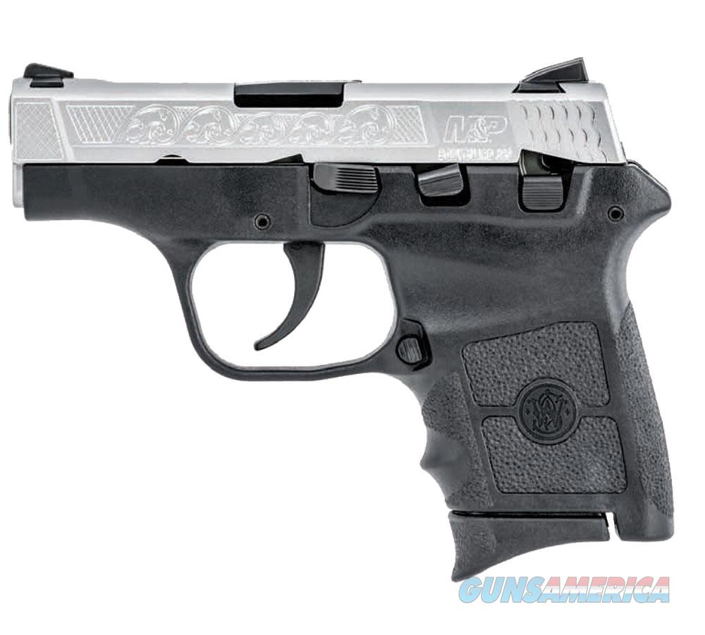 S&W M&P Bodyguard 380ACP Pistol - Stainless Slide w/Engravings  Guns > Pistols > Smith & Wesson Pistols - Autos > Polymer Frame