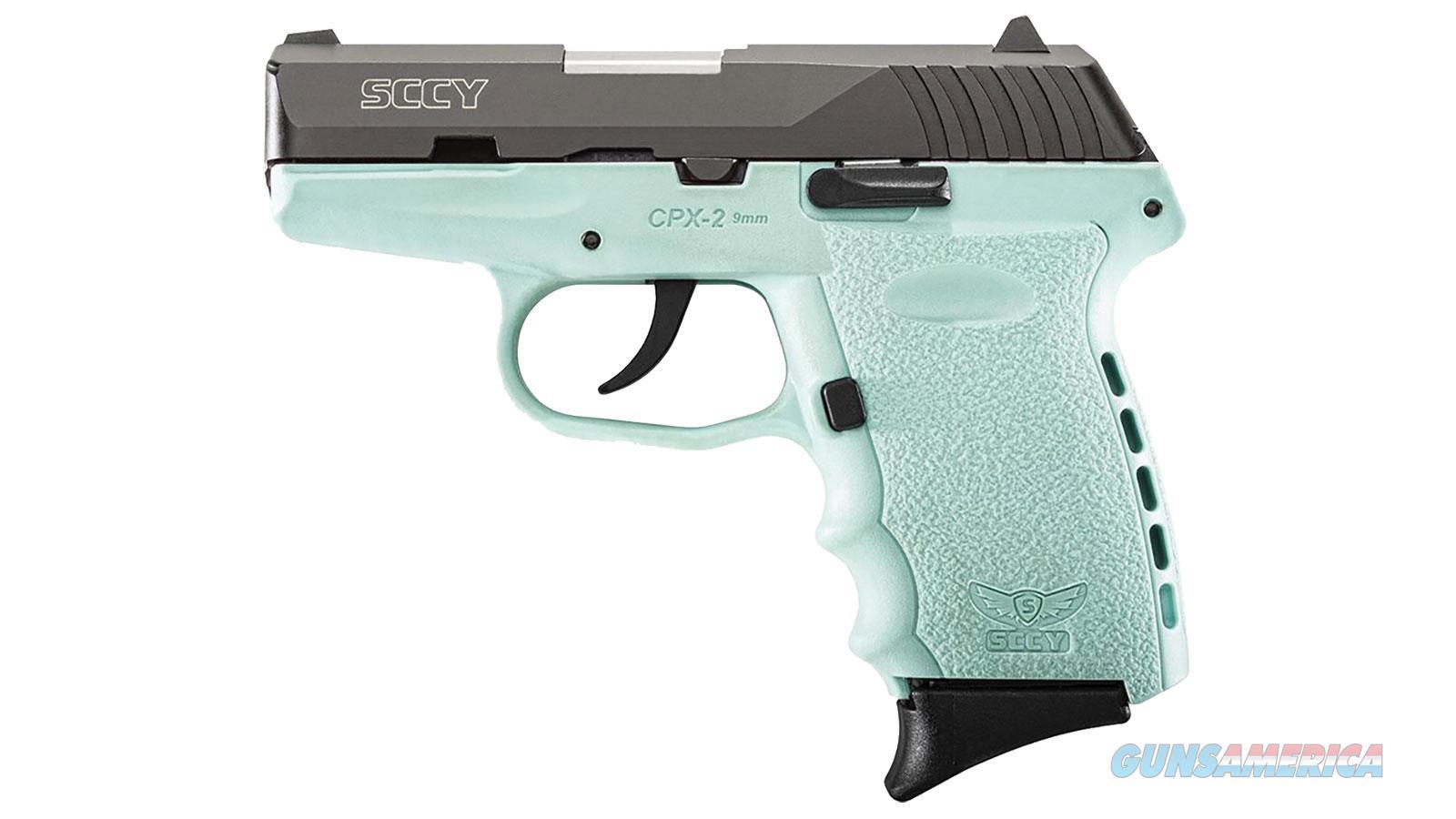 SCCY 9MM Pistol Blue Sky Frame  Guns > Pistols > SCCY Pistols > CPX2