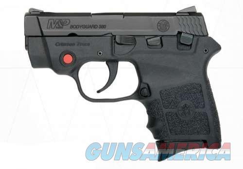 S&W M&P Bodyguard 380 w/Crimson Trace Laser  Guns > Pistols > Smith & Wesson Pistols - Autos > Polymer Frame