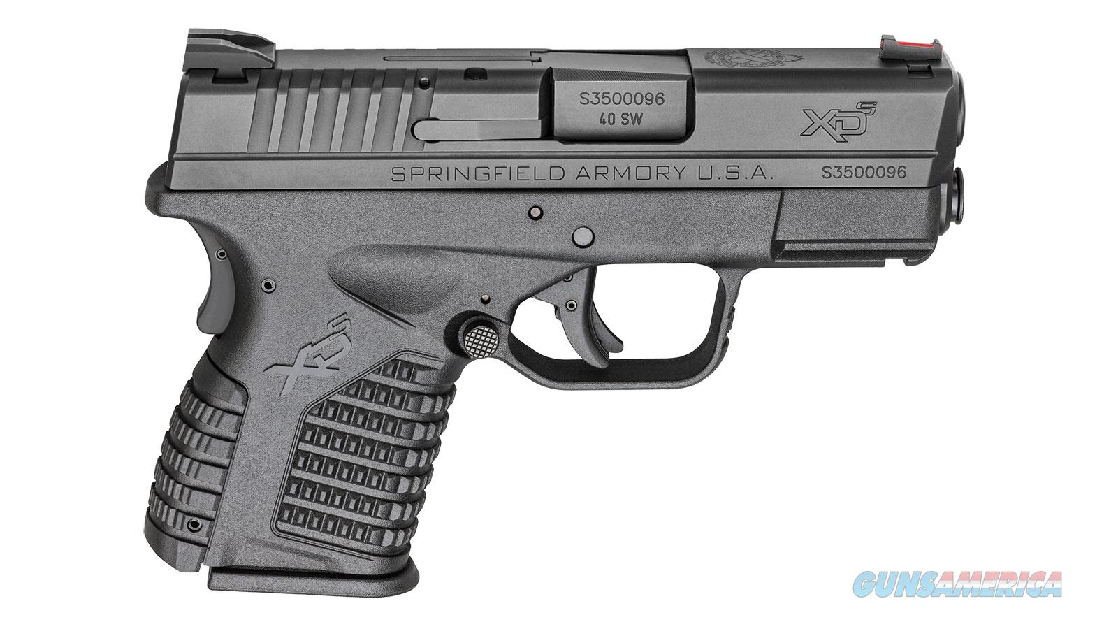 Springfield XDS Pistol in 40S&W  Guns > Pistols > Springfield Armory Pistols > XD-S