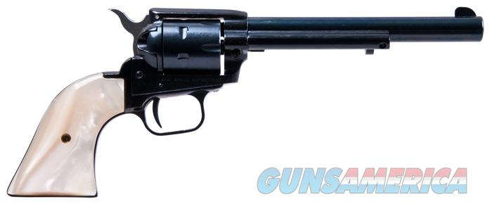 Heritage 22LR/22M Single Action Revolver w/ Pearl Grips  Guns > Pistols > Heritage