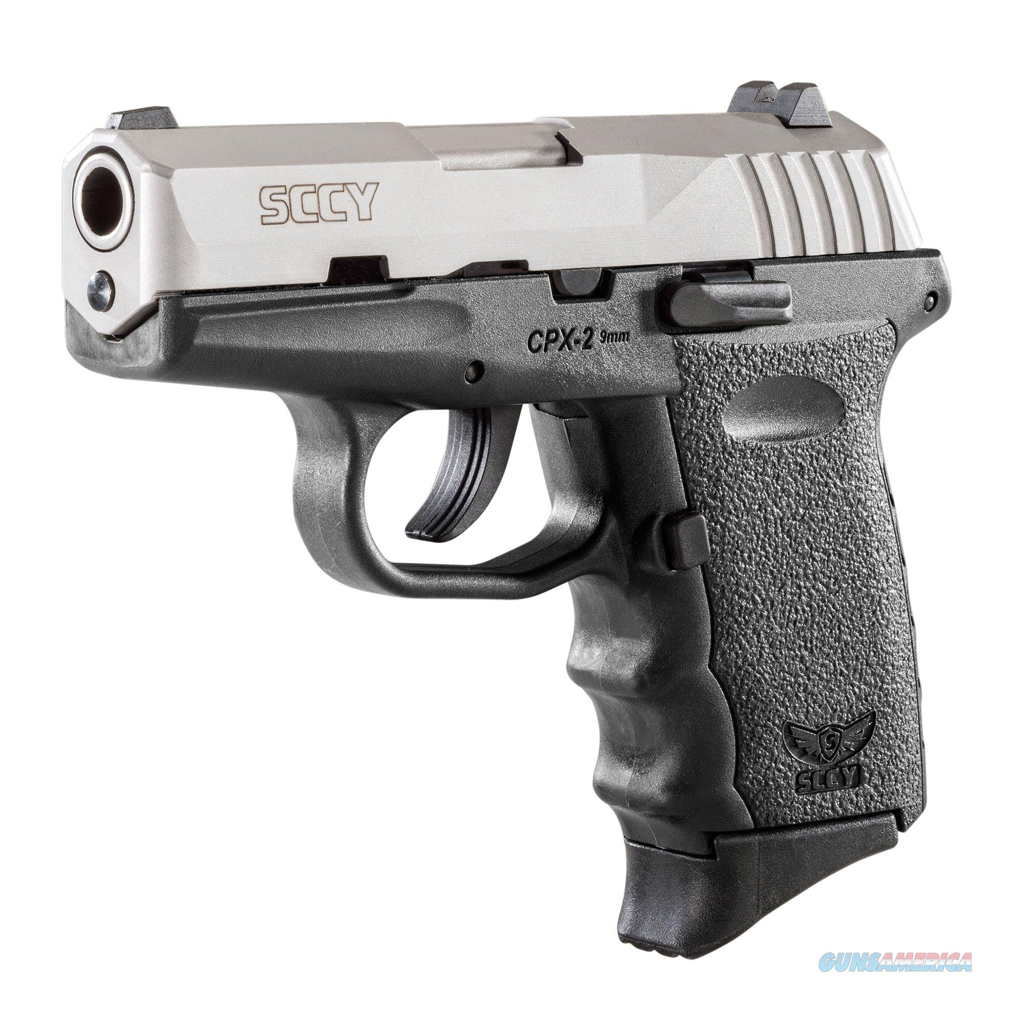 SCCY CPX-2 9MM Pistol w/Stainless Slide  Guns > Pistols > SCCY Pistols > CPX2