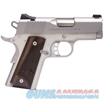 KIMBER 45ACP STAINLESS ULTRA CARRY II PISTOL   Guns > Pistols > Kimber of Oregon Pistols