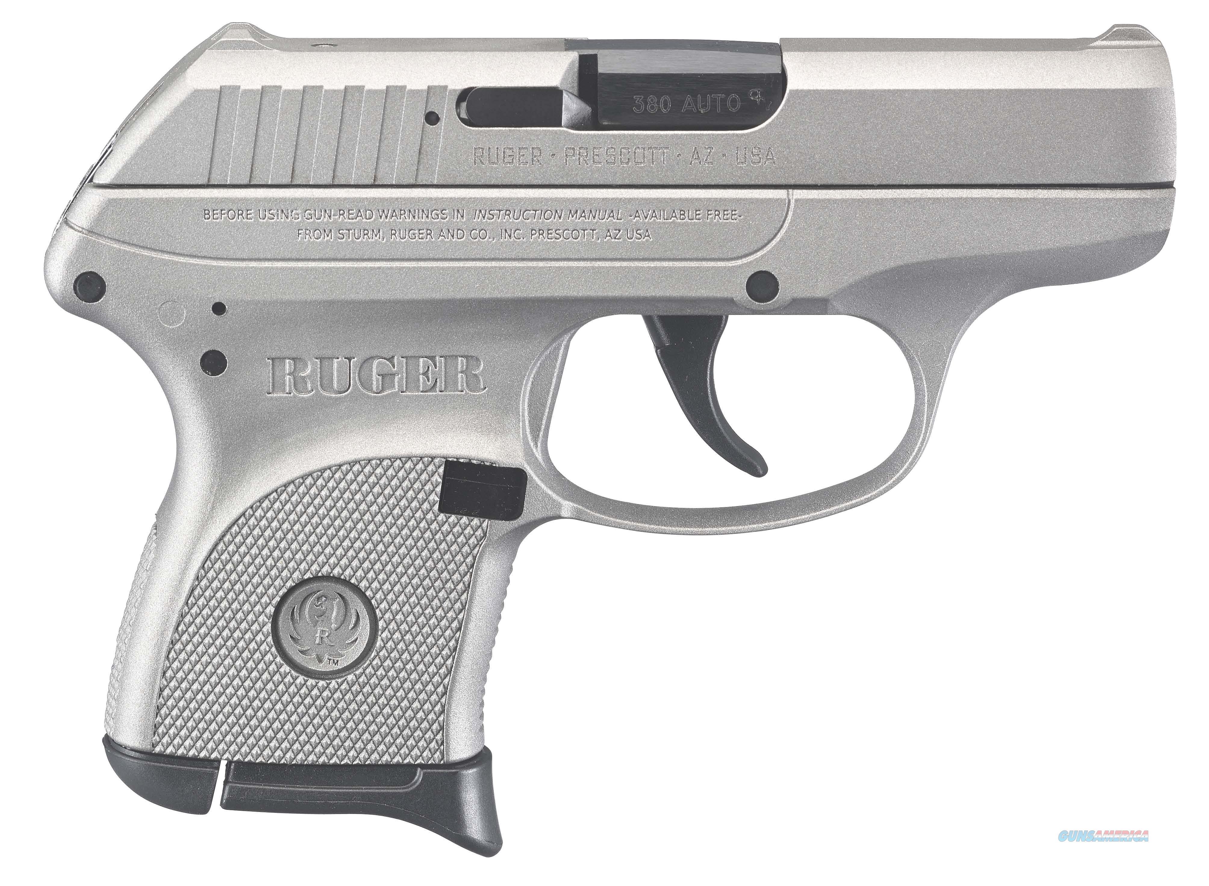 Ruger LCP 380ACP Pistol - Silver Cerakote  Guns > Pistols > Ruger Semi-Auto Pistols > LCP