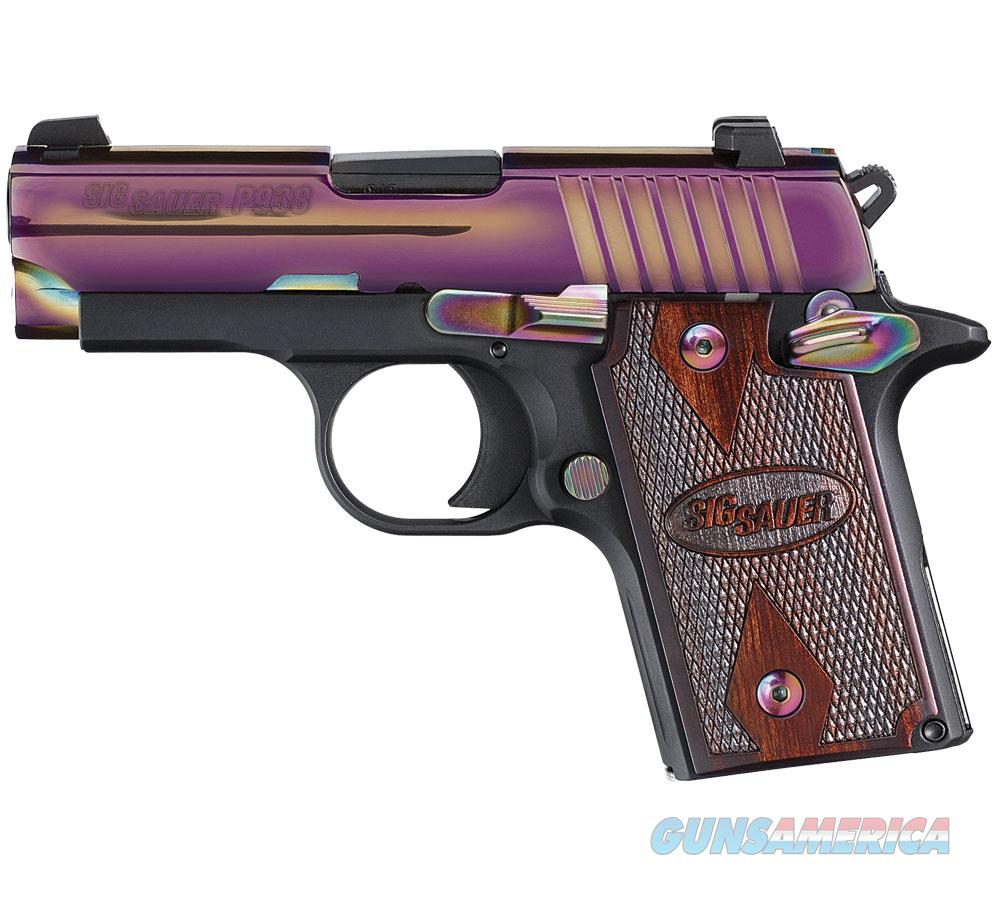 Sig Sauer P938 9MM in Rainbow Finish  Guns > Pistols > Sig - Sauer/Sigarms Pistols > Other