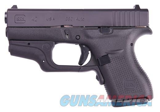 Glock 42 w/Crimson Trace Laser 380ACP Pistol  Guns > Pistols > Glock Pistols > 42