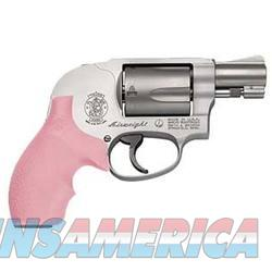 S&W 638 38SPL Revolver w/Pink & Black Grips Included   Guns > Pistols > Smith & Wesson Revolvers > Pocket Pistols