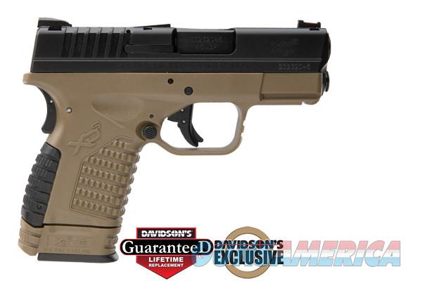 Springfield XDS 45ACP Pistol in FDE Finish  Guns > Pistols > Springfield Armory Pistols > XD-S