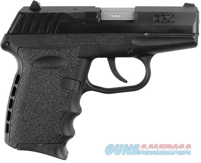 SCCY CPX-2 Black 9MM Pistol  Guns > Pistols > SCCY Pistols > CPX2