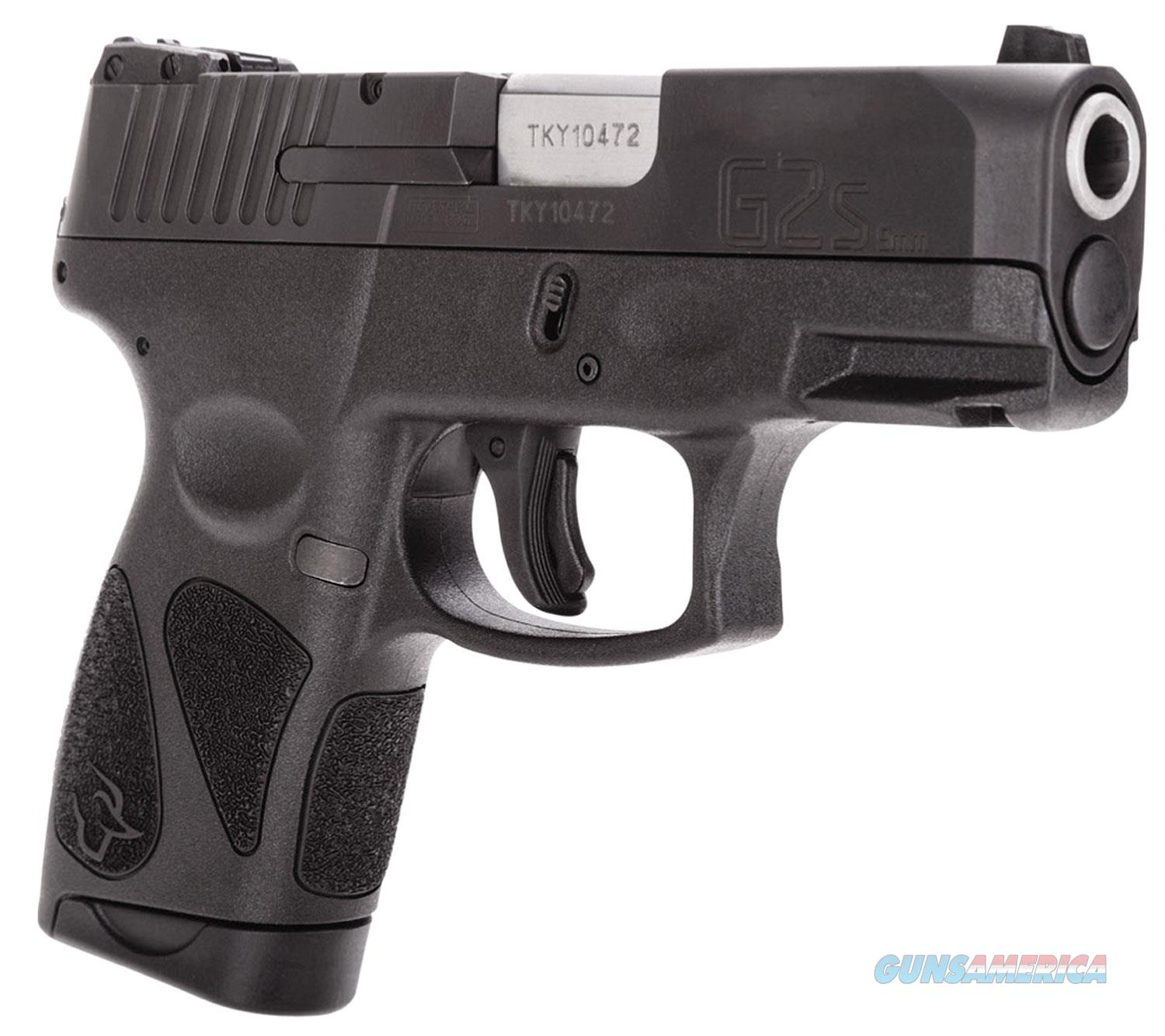 Taurus G2S 9MM Pistol (Replaced the SLIM)  Guns > Pistols > Taurus Pistols > Semi Auto Pistols > Polymer Frame