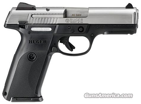 Ruger SR40 Stainless - ON SALE!  Guns > Pistols > Ruger Semi-Auto Pistols > SR Family