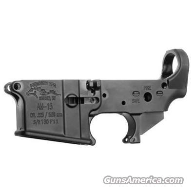 ANDERSON STRIPPED LOWER REC.223/.556   Guns > Rifles > A Misc Rifles