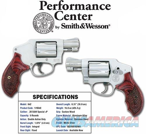 S&W Model 642 - Performance Center  Guns > Pistols > Smith & Wesson Revolvers > Performance Center