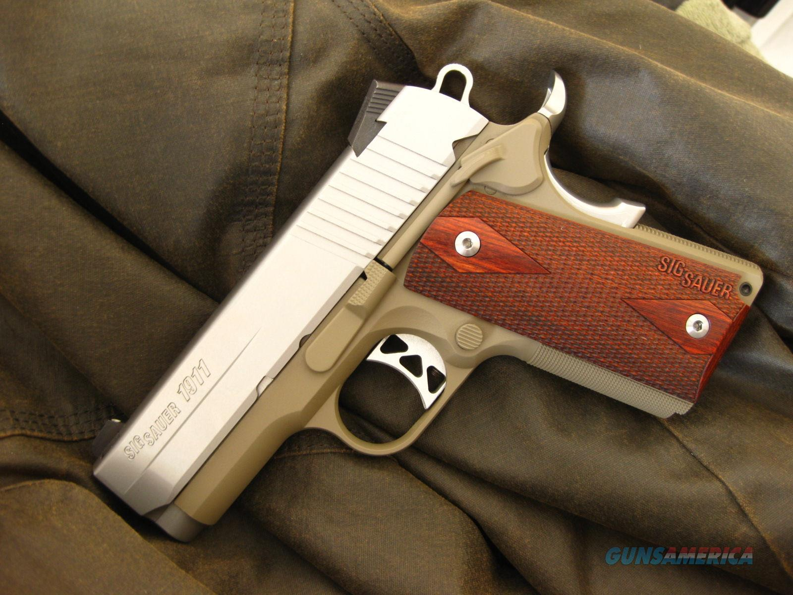 Sig Sauer 1911 Ultra Compact .45  Guns > Pistols > Sig - Sauer/Sigarms Pistols > 1911