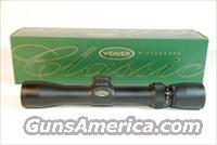 Weaver 2.5-8 x 28 Classic Handgun (Pistol) Scope  Non-Guns > Scopes/Mounts/Rings & Optics > Rifle Scopes > Variable Focal Length