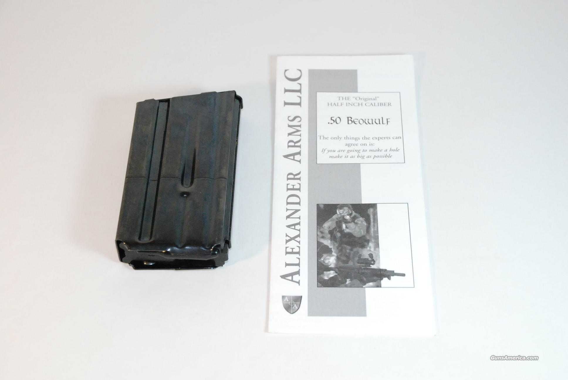 Alexander Arms 50 Beowulf 7-round magazine  Non-Guns > Magazines & Clips > Rifle Magazines > AR-15 Type