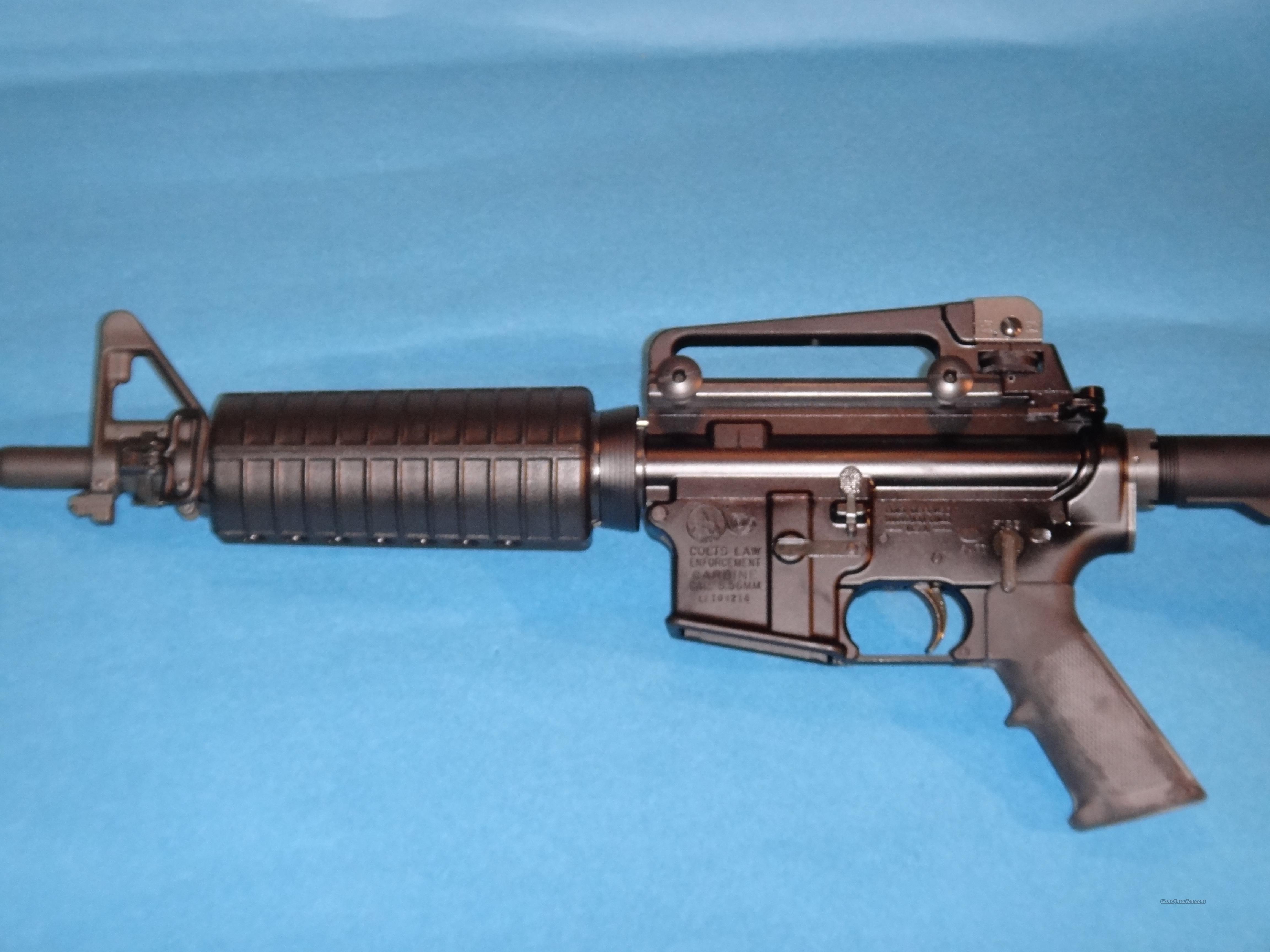 Colt M4 Carbine LE  Guns > Rifles > Colt Military/Tactical Rifles