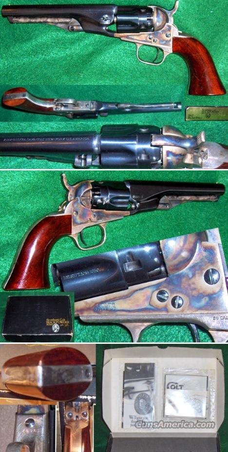 COLT MODEL 1862 POLICE - FLUTED  Guns > Pistols > Colt Percussion Revolver - Modern